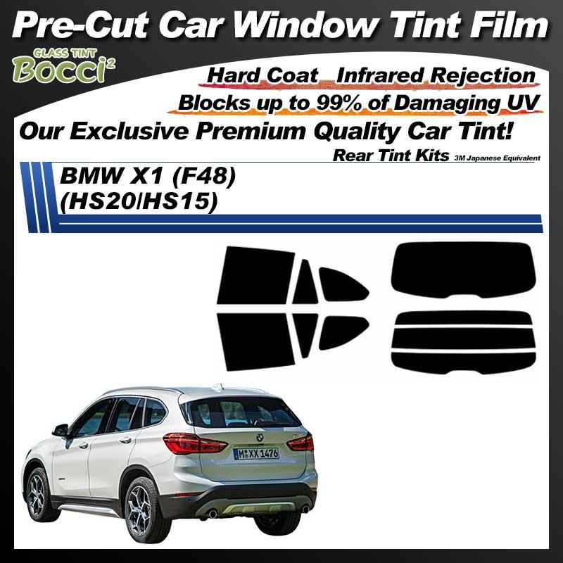 BMW X1 (F48) (HS20/HS15) Pre-Cut Car Tint Film UV IR 3M Japanese Equivalent