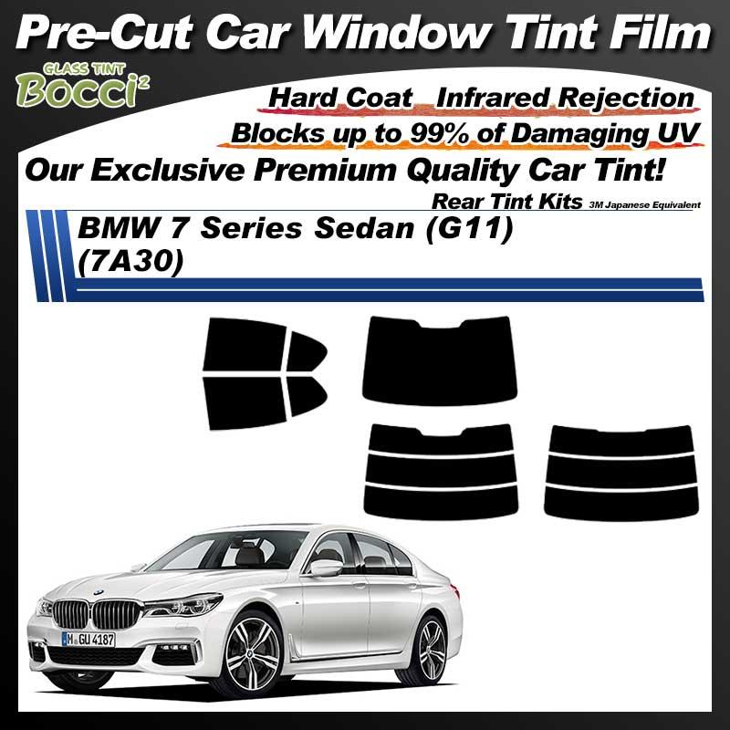 BMW 7 Series Sedan (G11) (7A30) Pre-Cut Car Tint Film UV IR 3M Japanese Equivalent