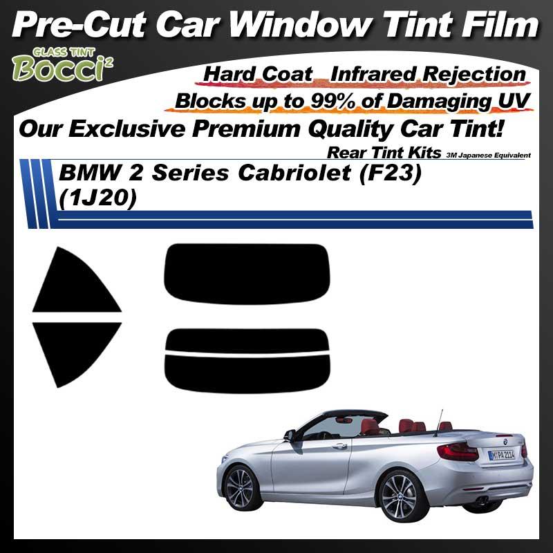 BMW 2 Series Cabriolet (F23) (1J20) Pre-Cut Car Tint Film UV IR 3M Japanese Equivalent