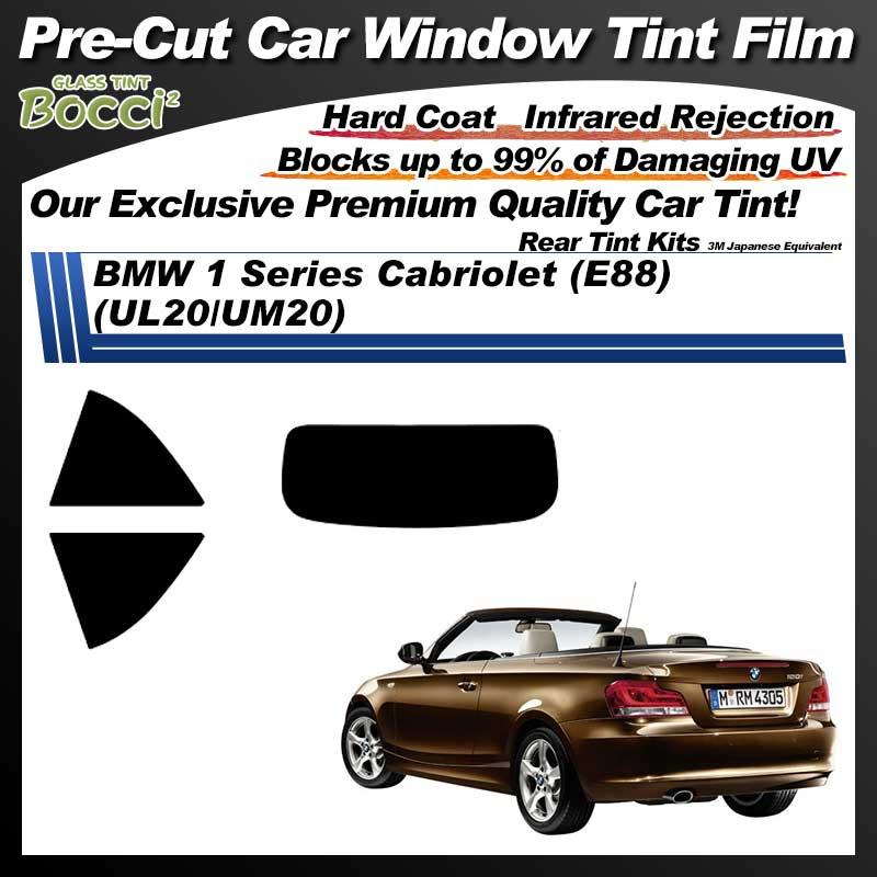 BMW 1 Series Cabriolet (E88) (UL20/UM20) Pre-Cut Car Tint Film UV IR 3M Japanese Equivalent
