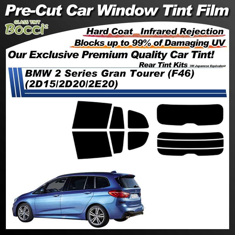 BMW 2 Series Gran Tourer (F46) (2D15/2D20/2E20) Pre-Cut Car Tint Film UV IR 3M Japanese Equivalent