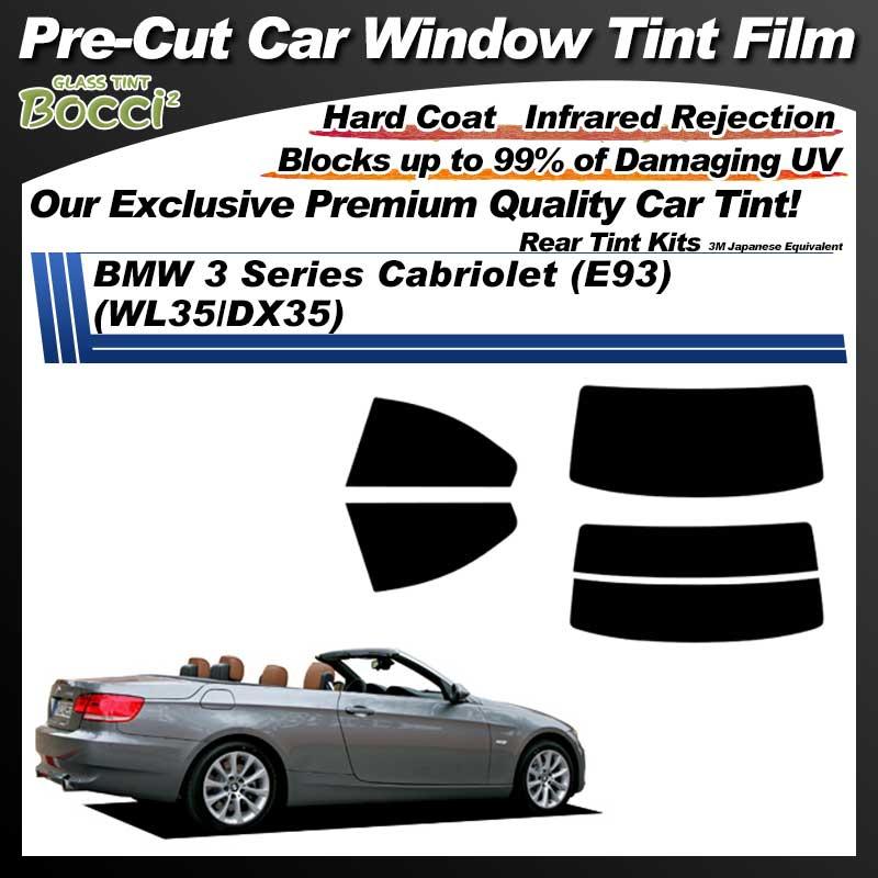 BMW 3 Series Cabriolet (E93) (WL35/DX35) Pre-Cut Car Tint Film UV IR 3M Japanese Equivalent