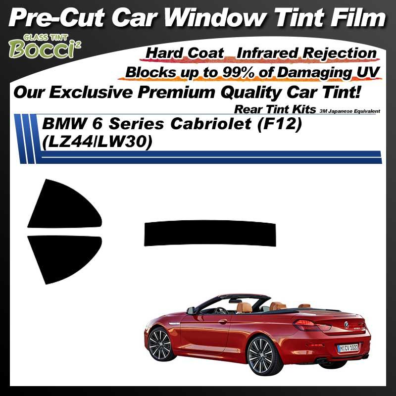 BMW 6 Series Cabriolet (F12) (LZ44/LW30) Pre-Cut Car Tint Film UV IR 3M Japanese Equivalent