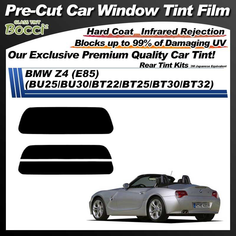 BMW Z4 (E85) (BU25/BU30/BT22/BT25/BT30/BT32) Pre-Cut Car Tint Film UV IR 3M Japanese Equivalent