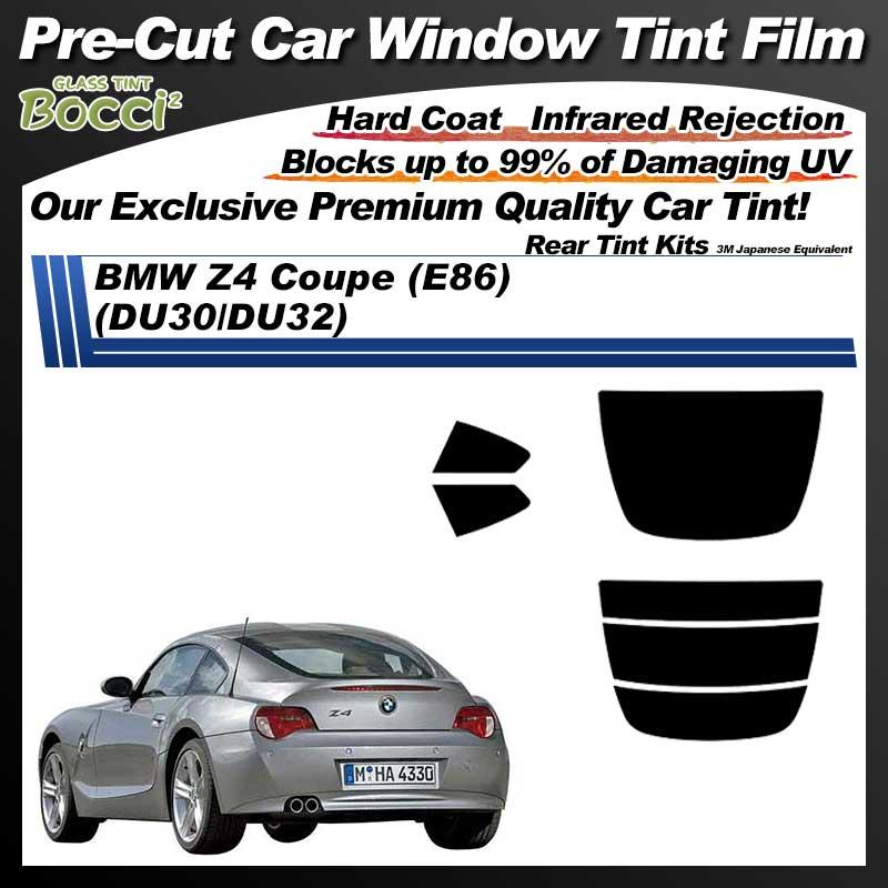 BMW Z4 Coupe (E86) (DU30/DU32) Pre-Cut Car Tint Film UV IR 3M Japanese Equivalent