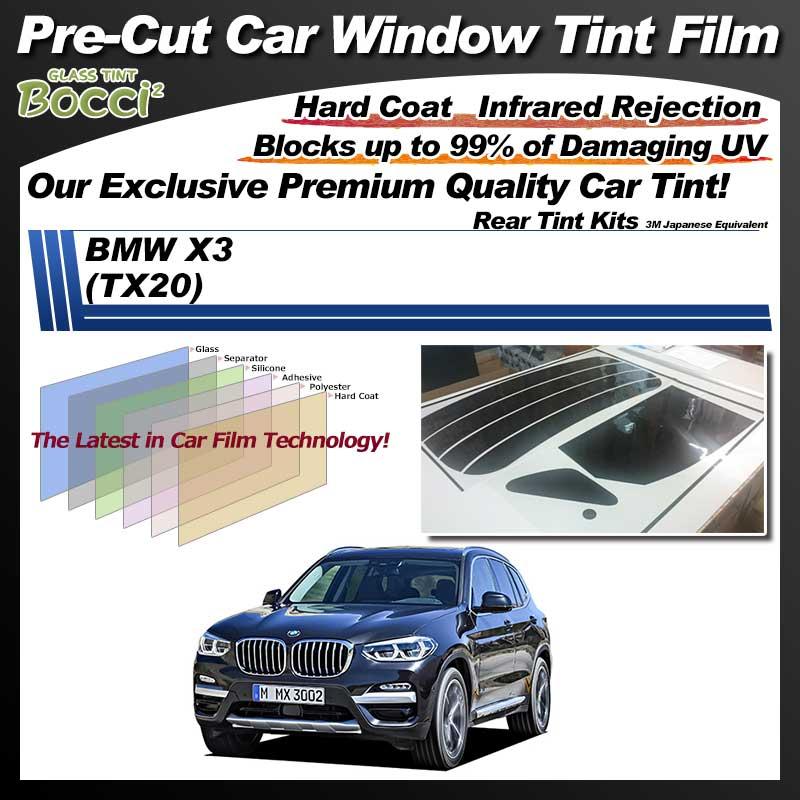 BMW X3 (TX20) Pre-Cut Car Tint Film UV IR 3M Japanese Equivalent