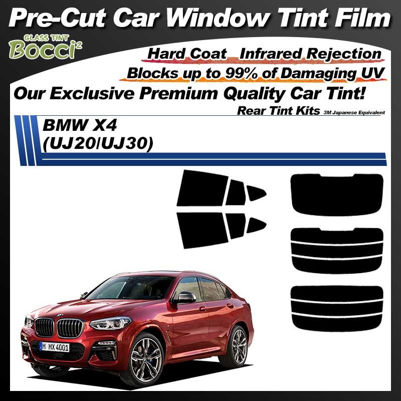 BMW X4 (UJ20/UJ30) Pre-Cut Car Tint Film UV IR 3M Japanese Equivalent