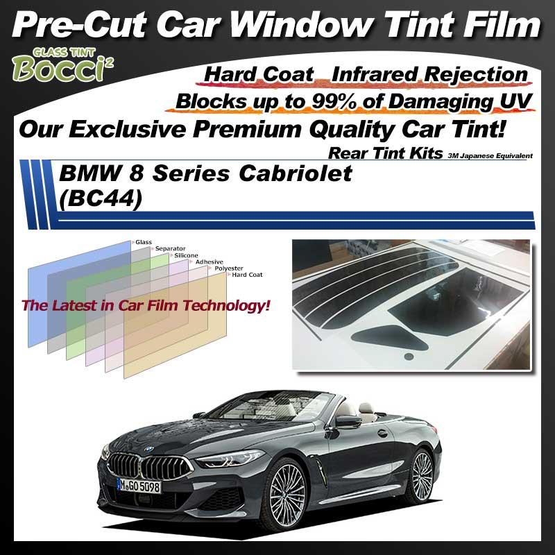 BMW 8 Series Cabriolet (BC44) Pre-Cut Car Tint Film UV IR 3M Japanese Equivalent