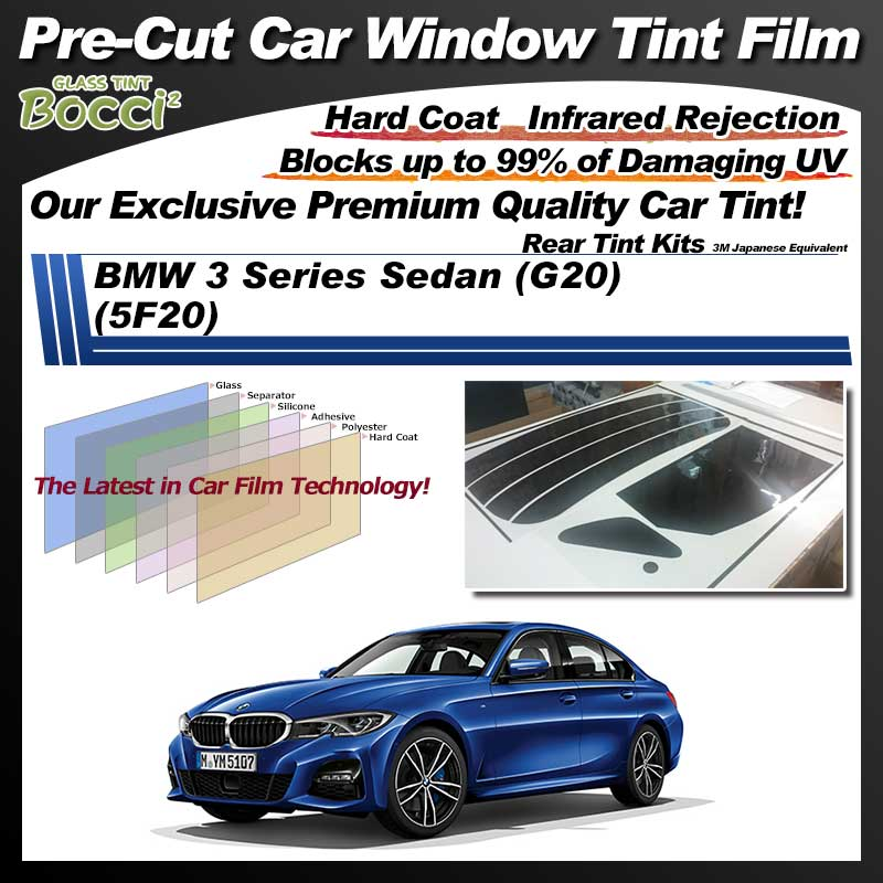 BMW 8 Series Coupe (BC44) Pre-Cut Car Tint Film UV IR 3M Japanese Equivalent