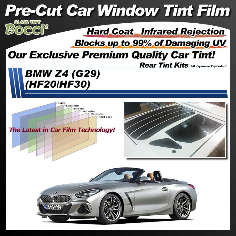 BMW Z4 (G29) (HF20/HF30) Pre-Cut Car Tint Film UV IR 3M Japanese Equivalent
