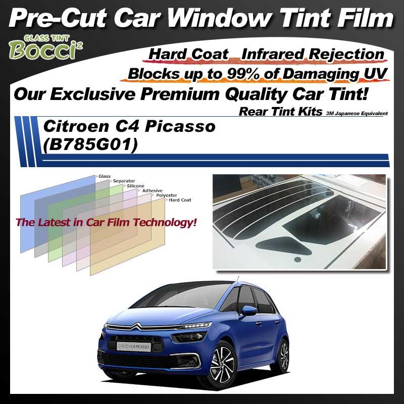 Citroen C4 Picasso (B785G01) Pre-Cut Car Tint Film UV IR 3M Japanese Equivalent