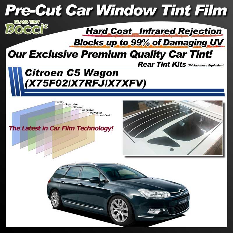 Citroen C5 Wagon (X75F02/X7RFJ/X7XFV) Pre-Cut Car Tint Film UV IR 3M Japanese Equivalent