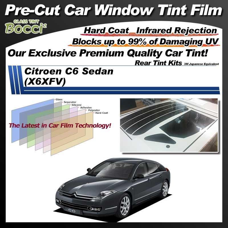 Citroen C6 Sedan (X6XFV) Pre-Cut Car Tint Film UV IR 3M Japanese Equivalent