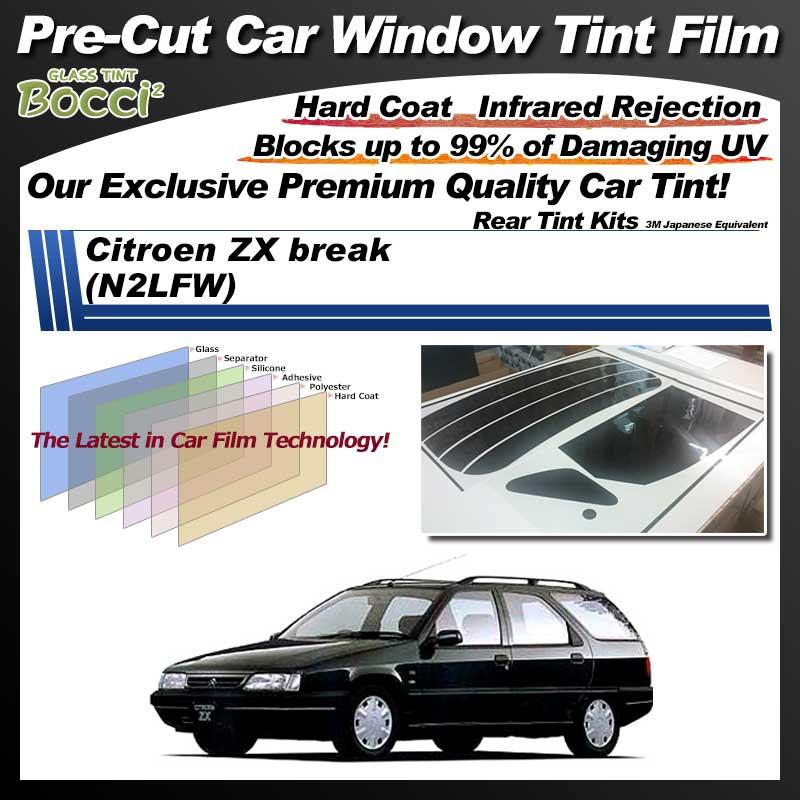 Citroen ZX break (N2LFW) Pre-Cut Car Tint Film UV IR 3M Japanese Equivalent