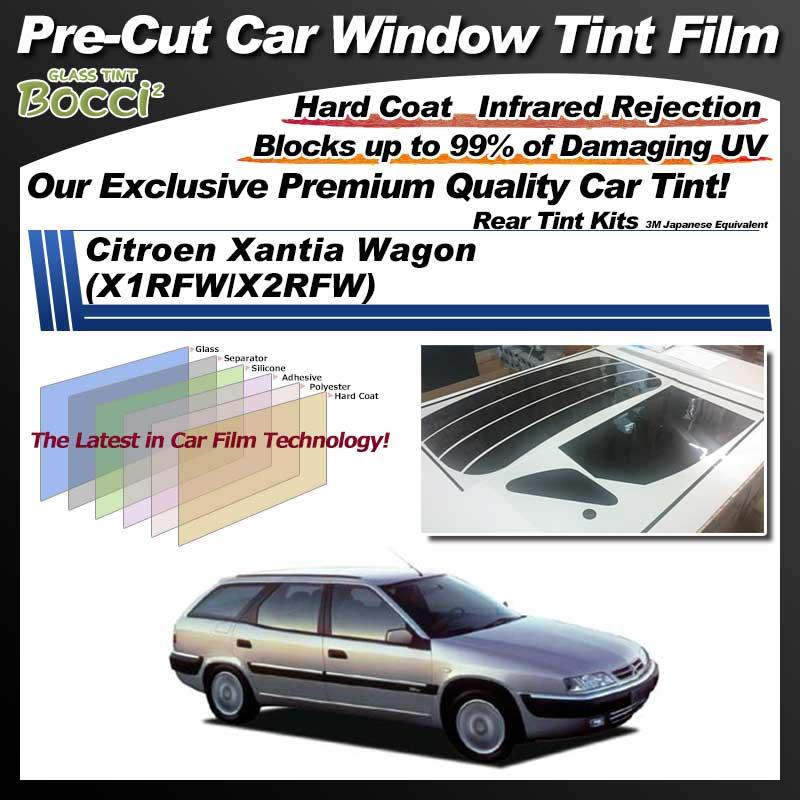 Citroen Xantia Wagon (X1RFW/X2RFW) Pre-Cut Car Tint Film UV IR 3M Japanese Equivalent