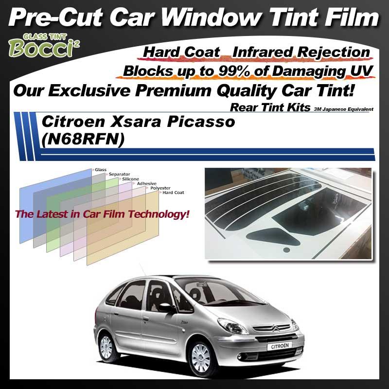 Citroen Xsara Picasso (N68RFN) Pre-Cut Car Tint Film UV IR 3M Japanese Equivalent