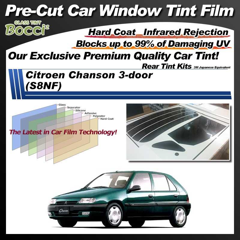 Citroen Chanson 3-door (S8NF) Pre-Cut Car Tint Film UV IR 3M Japanese Equivalent