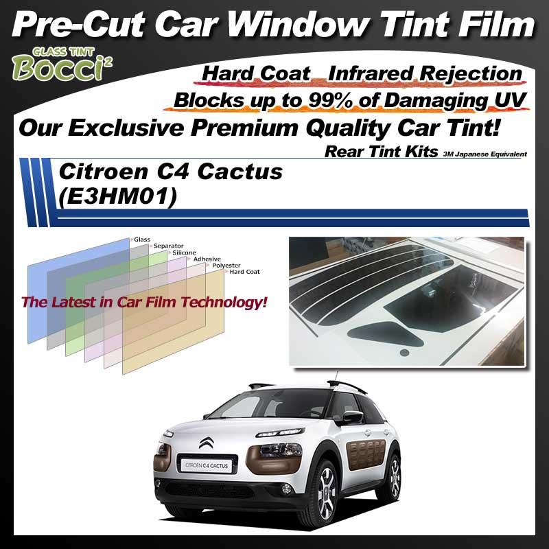 Citroen C4 Cactus (E3HM01) Pre-Cut Car Tint Film UV IR 3M Japanese Equivalent