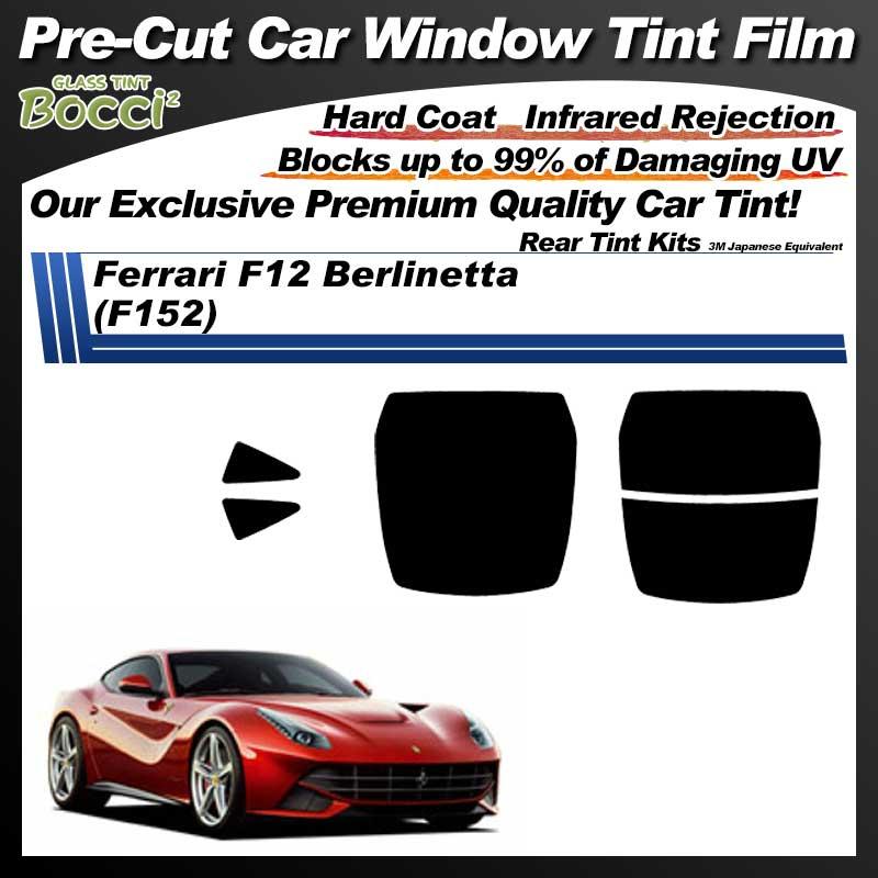 Ferrari F12 Berlinetta (F152) Pre-Cut Car Tint Film UV IR 3M Japanese Equivalent