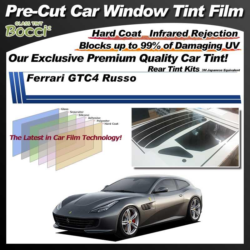 Ferrari GTC4 Russo Pre-Cut Car Tint Film UV IR 3M Japanese Equivalent