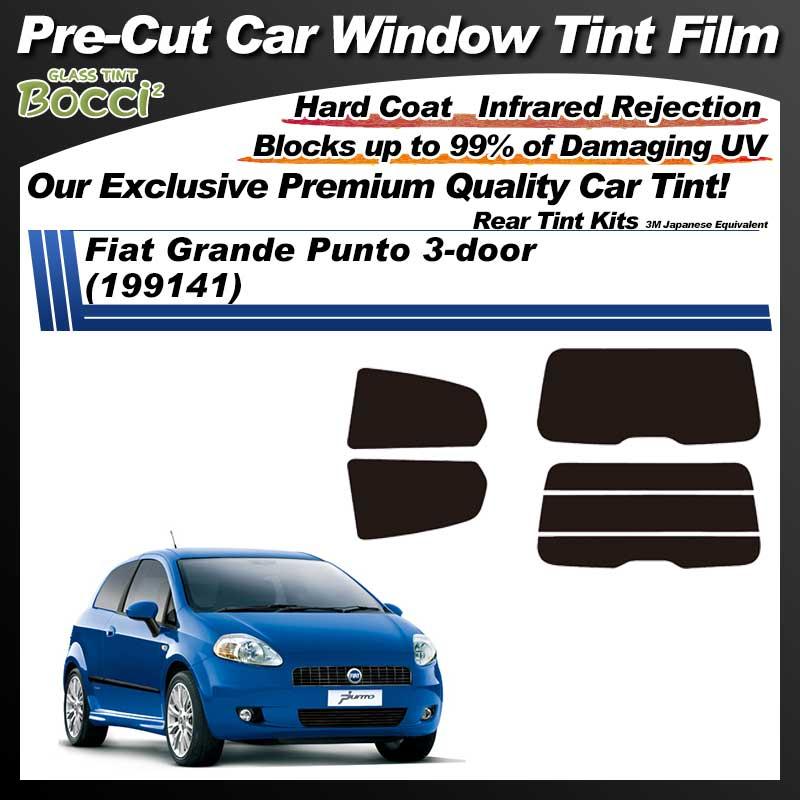 Fiat Grande Punto 3-door (199141) Pre-Cut Car Tint Film UV IR 3M Japanese Equivalent