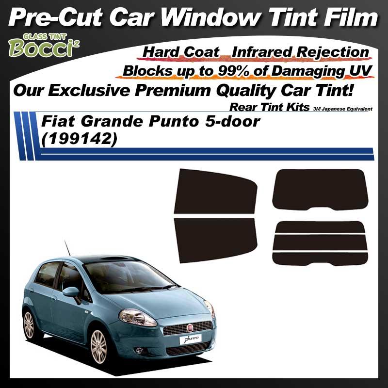 Fiat Grande Punto 5-door (199142) Pre-Cut Car Tint Film UV IR 3M Japanese Equivalent