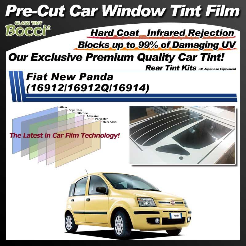 Fiat New Panda (16912/16912Q/16914) Pre-Cut Car Tint Film UV IR 3M Japanese Equivalent