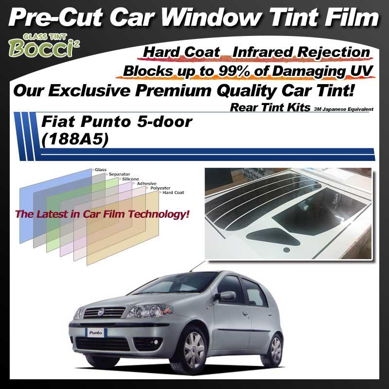 Fiat Punto 5-door (188A5) Pre-Cut Car Tint Film UV IR 3M Japanese Equivalent