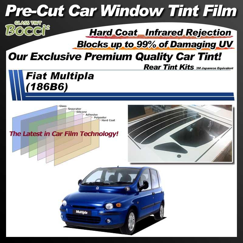 Fiat Multipla (186B6) Pre-Cut Car Tint Film UV IR 3M Japanese Equivalent