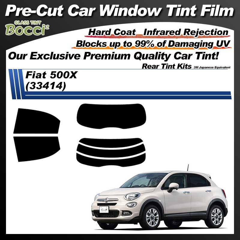 Fiat 500X (33414) Pre-Cut Car Tint Film UV IR 3M Japanese Equivalent