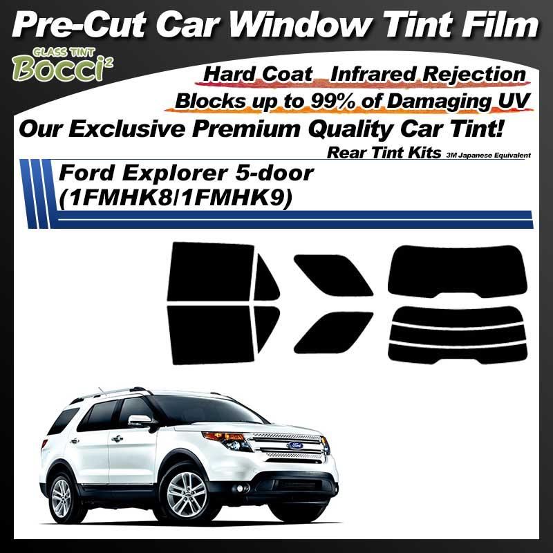 Ford Explorer 5-door (1FMHK8/1FMHK9) Pre-Cut Car Tint Film UV IR 3M Japanese Equivalent