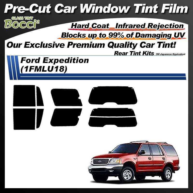 Ford Expedition (1FMLU18) Pre-Cut Car Tint Film UV IR 3M Japanese Equivalent