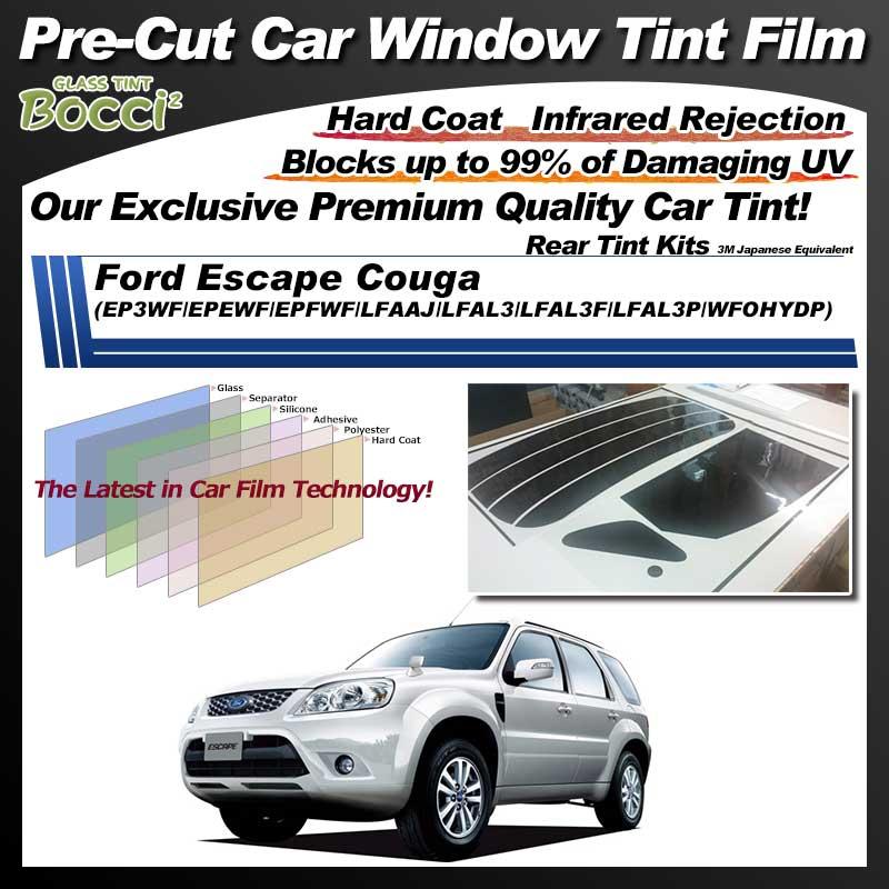 Ford Escape Couga (EP3WF/EPEWF/EPFWF/LFAAJ/LFAL3/LFAL3F/LFAL3P/WFOHYDP) Pre-Cut Car Tint Film UV IR 3M Japanese Equivalent