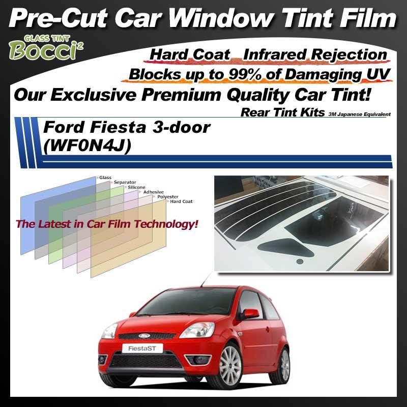 Ford Fiesta 3-door (WF0N4J) Pre-Cut Car Tint Film UV IR 3M Japanese Equivalent
