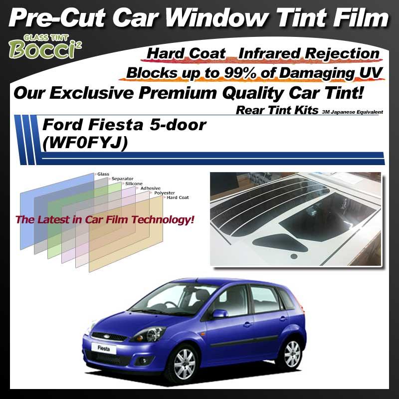 Ford Fiesta 5-door (WF0FYJ) Pre-Cut Car Tint Film UV IR 3M Japanese Equivalent