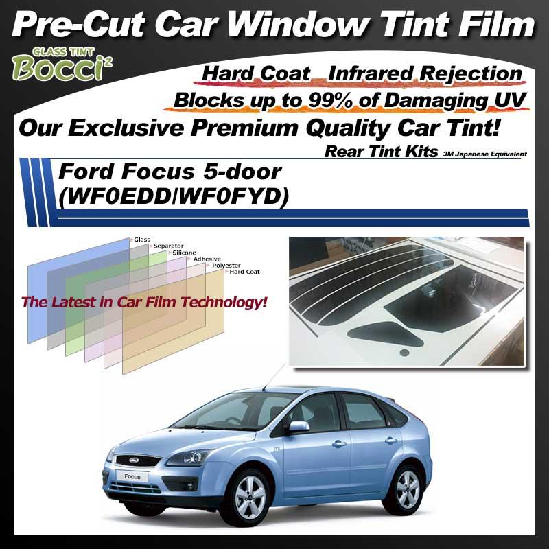 Ford Focus 5-door (WF0EDD/WF0FYD) Pre-Cut Car Tint Film UV IR 3M Japanese Equivalent