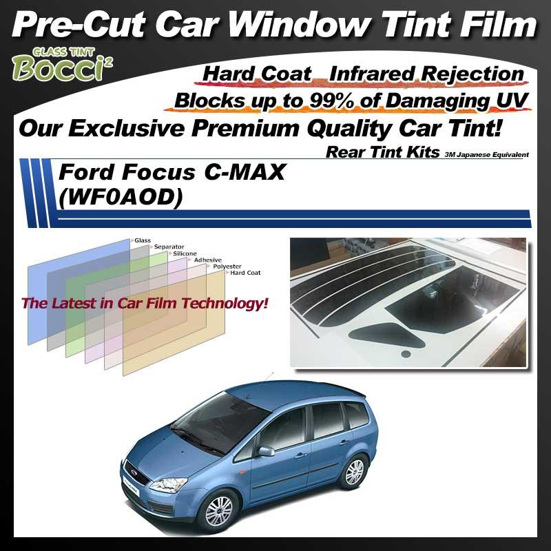 Ford Focus C-MAX (WF0AOD) Pre-Cut Car Tint Film UV IR 3M Japanese Equivalent
