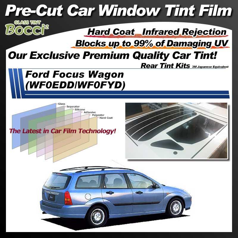 Ford Focus Wagon (WF0EDD/WF0FYD) Pre-Cut Car Tint Film UV IR 3M Japanese Equivalent