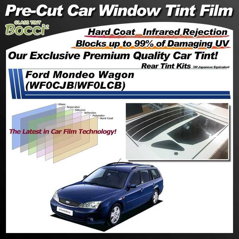 Ford Mondeo Wagon (WF0CJB/WF0LCB) Pre-Cut Car Tint Film UV IR 3M Japanese Equivalent