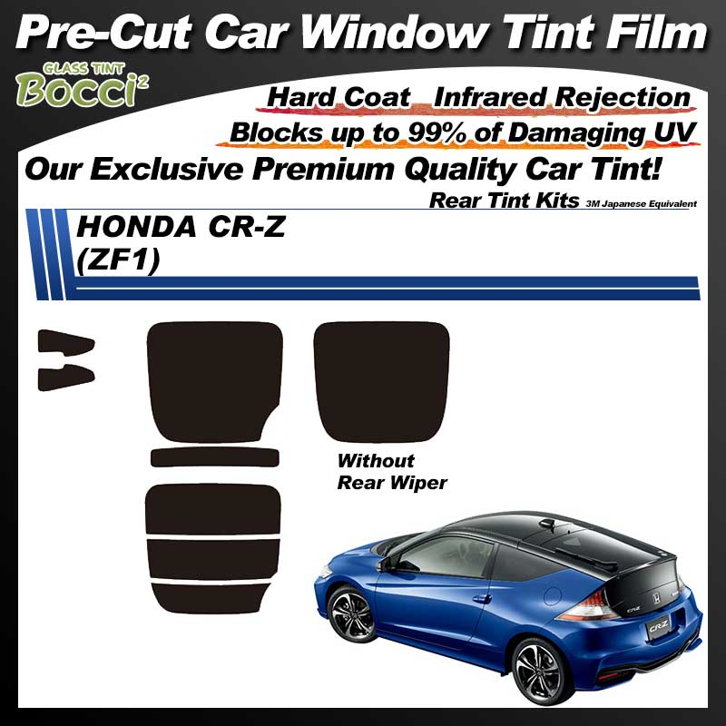 HONDA CR-Z (ZF1) Pre-Cut Car Tint Film UV IR 3M Japanese Equivalent