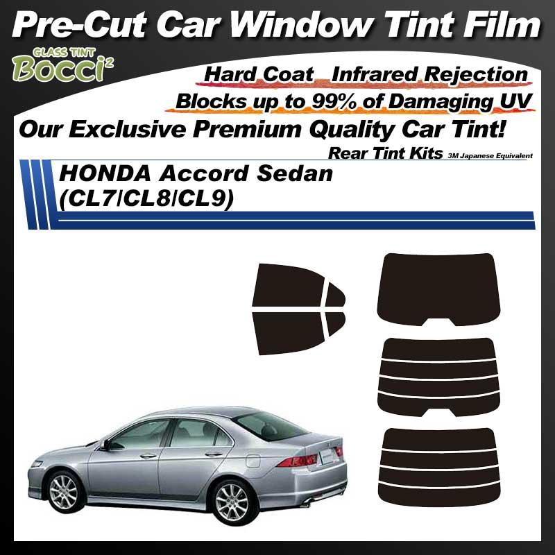 HONDA Accord Sedan (CL7/CL8/CL9) Pre-Cut Car Tint Film UV IR 3M Japanese Equivalent