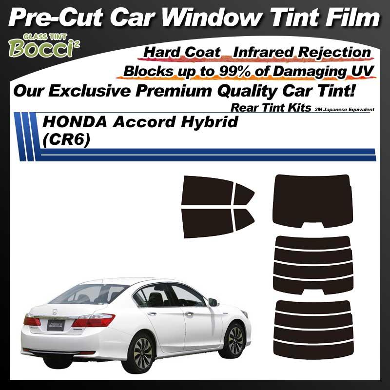 HONDA Accord Sedan Hybrid (CR6) Pre-Cut Car Tint Film UV IR 3M Japanese Equivalent