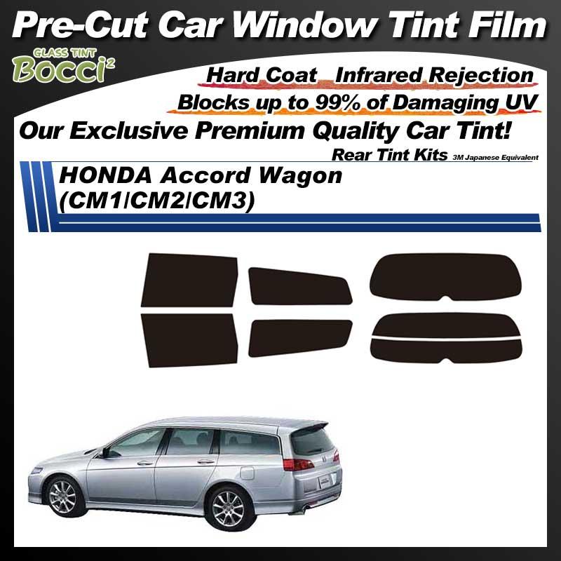HONDA Accord Wagon (CM1/CM2/CM3) Pre-Cut Car Tint Film UV IR 3M Japanese Equivalent