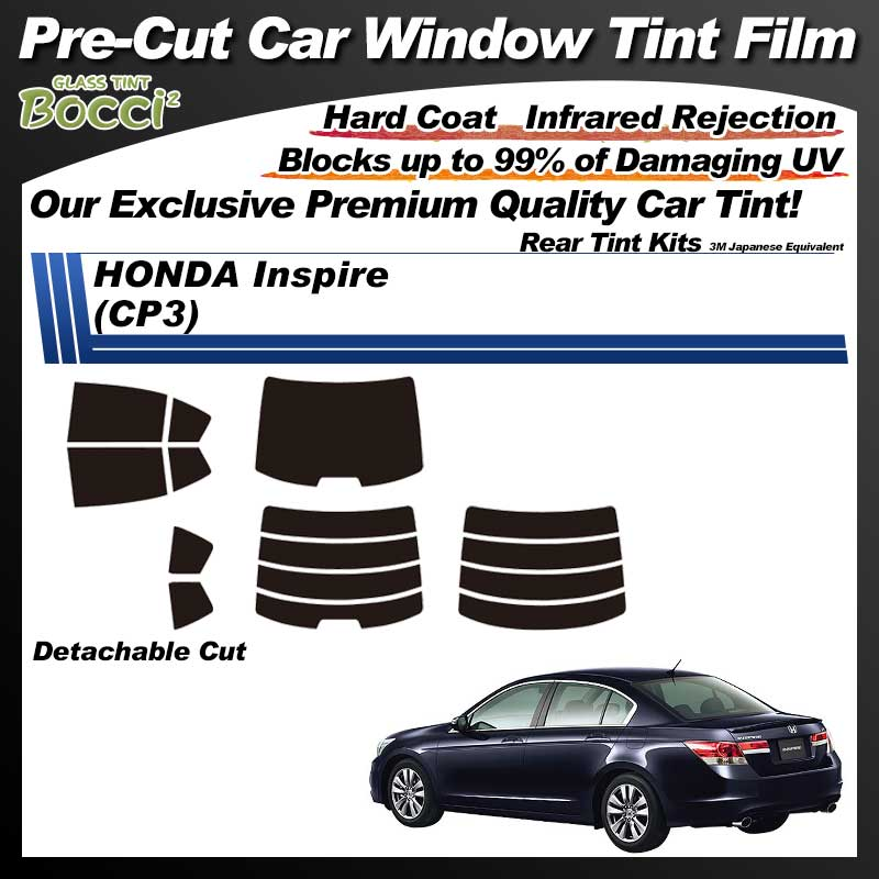 HONDA Inspire (CP3) Pre-Cut Car Tint Film UV IR 3M Japanese Equivalent