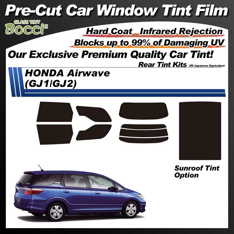 HONDA Airwave (GJ1/GJ2) With Sunroof Pre-Cut Car Tint Film UV IR 3M Japanese Equivalent