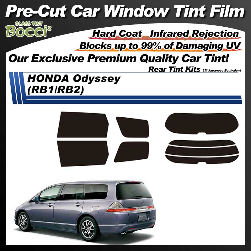 HONDA Odyssey (RB1/RB2) Pre-Cut Car Tint Film UV IR 3M Japanese Equivalent