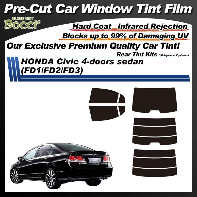 HONDA Civic 4-doors sedan (FD1/FD2/FD3) Pre-Cut Car Tint Film UV IR 3M Japanese Equivalent
