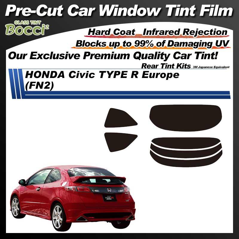 HONDA Civic Type R Euro (FN2) Pre-Cut Car Tint Film UV IR 3M Japanese Equivalent