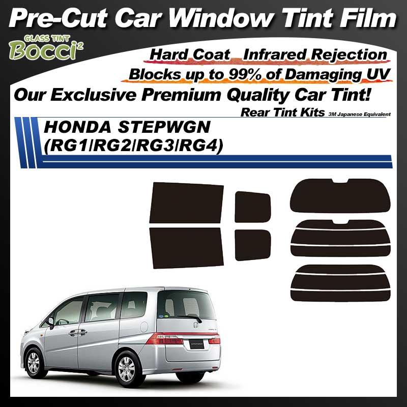 HONDA Step Wagon (RG1/RG2/RG3/RG4) Pre-Cut Car Tint Film UV IR 3M Japanese Equivalent