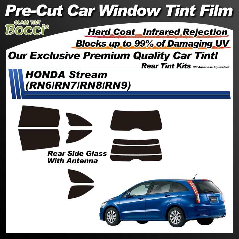 HONDA Stream (RN6/RN7/RN8/RN9) Pre-Cut Car Tint Film UV IR 3M Japanese Equivalent